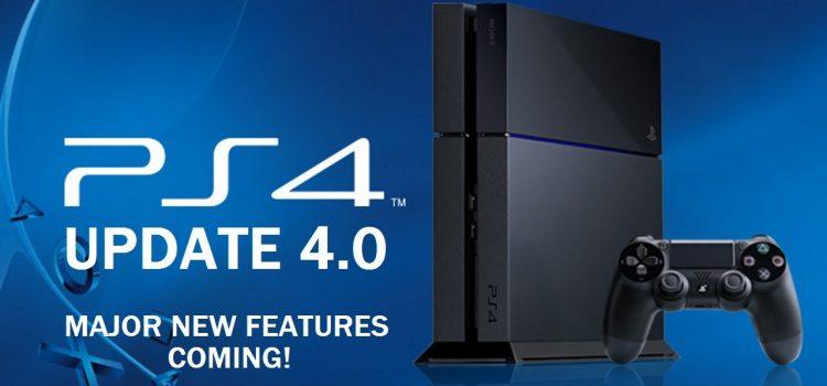 [PS4] Mise à jour Firmware 4.0