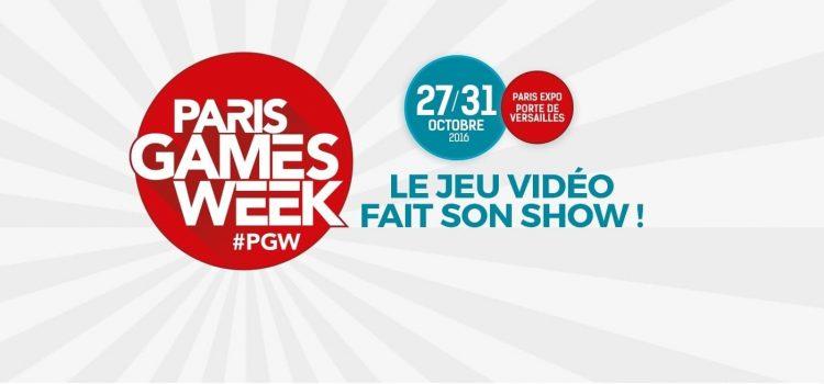 [PGW 2016] C'est parti pour la Paris Games Week !