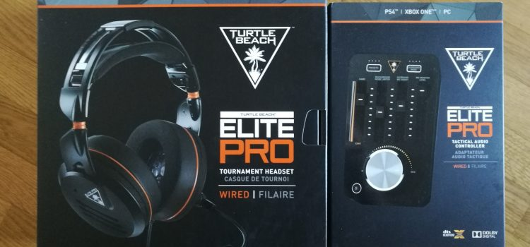 [TEST] Casque Turtle Beach Elite Pro avec son T.A.C