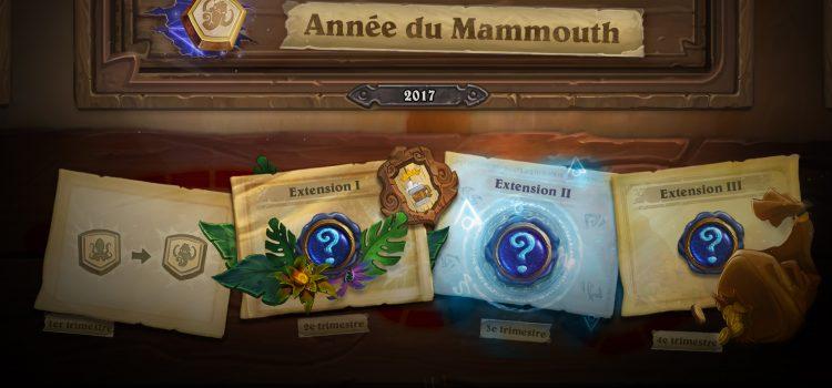 [ANNONCE] 2017 sera l'année du Mammouth sur Hearthstone !