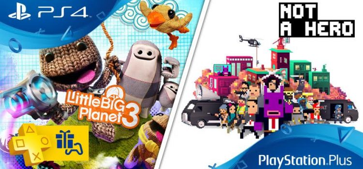 [PS+] Liste des jeux gratuits pour Février 2017