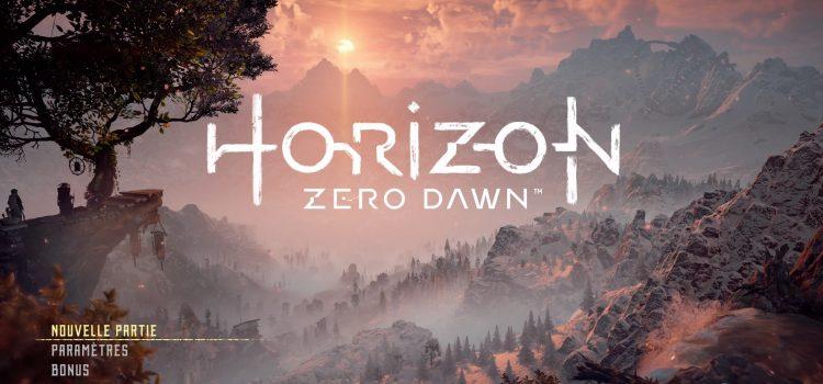 [TEST] Quelques clichés de Horizon Zero Dawn