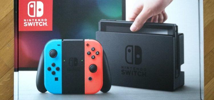 [UNBOXING] Nintendo Switch (et mes premières impressions)