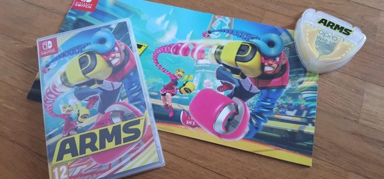 [ARRIVAGE] Press Kit de Arms sur Switch