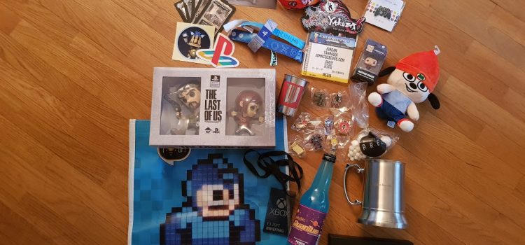 [E3 2017] Mes goodies du salon !