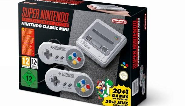 [ANNONCE] La Super Nintendo Mini arrive bientôt !