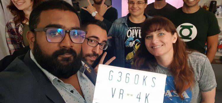 [WEB] G360KS : La nouvelle émission à 360° en 4K !