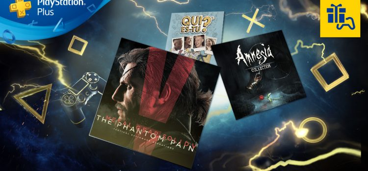 [PS+] Liste des jeux gratuits pour Octobre 2017