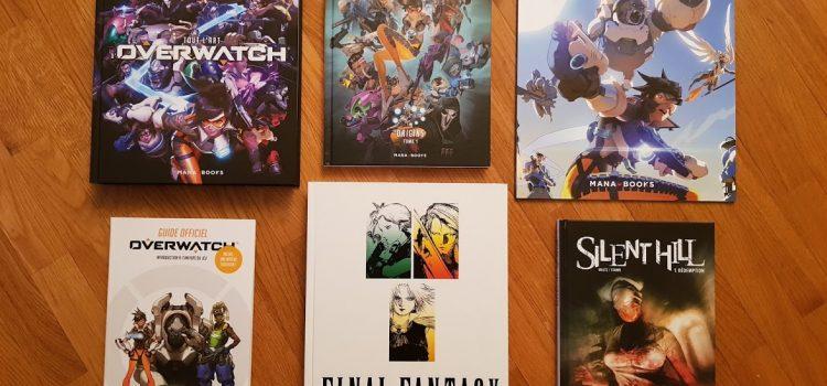 [DÉCOUVERTE] Présentation des livres Overwatch, Final Fantasy et Silent Hill de chez Mana Books