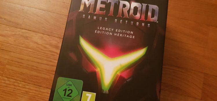 [UNBOXING] Metroid Samus Returns – Édition Héritage