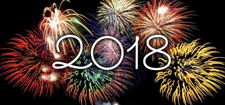 [BLOG] Bonne année 2018 !!