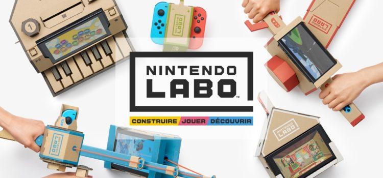 [ANNONCE] Nintendo Labo arrive sur Switch