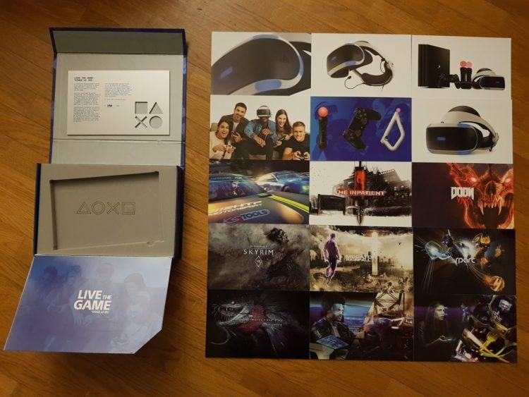 unboxing press kit les nouveaux jeux playstation vr ps4 switch ps. Black Bedroom Furniture Sets. Home Design Ideas