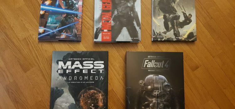 [DÉCOUVERTE] Les derniers livres Mana Books avec Mass Effect, Metal Gear Solid, Deus Ex et Fallout 4