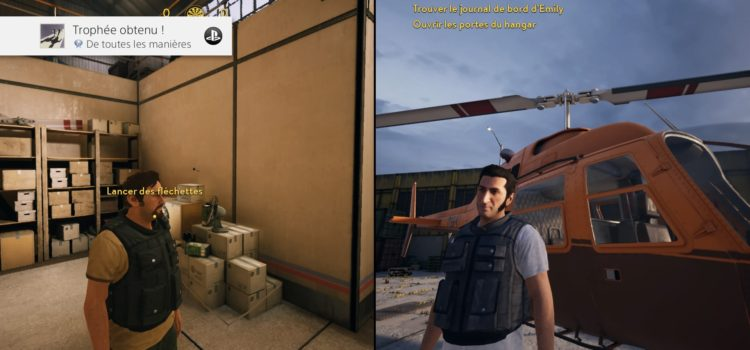 [TROPHEES] Platine n°119 : A Way Out sur PS4