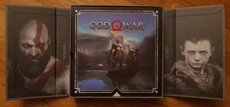 [UNBOXING] Press Kit : God of War sur PS4