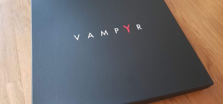 [UNBOXING] Press Kit – Vampyr sur PS4