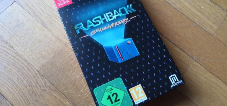[UNBOXING] Flashback collector – 25ème anniversaire sur Switch