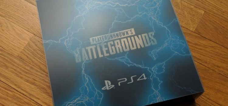 [UNBOXING] Press Kit – PUBG sur PS4