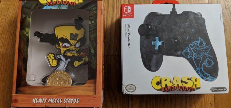 [DÉCOUVERTE] Du Crash Bandicoot chez PowerA