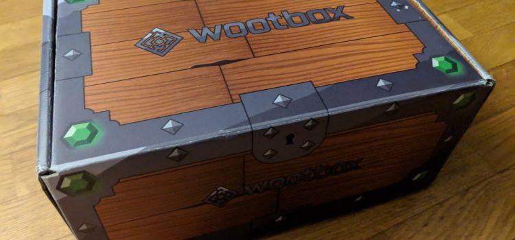 [UNBOXING] Wootbox de Décembre 2018
