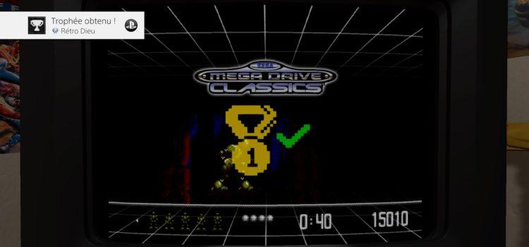 [TROPHEES] Platine n°129 : Sega Mega Drive Classics sur PS4
