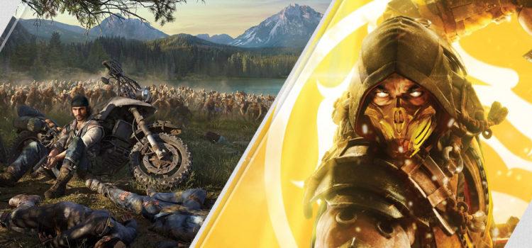 [PSN] Mise à jour hebdo du 22/04/2019 : Days Gone, Mortal Kombat 11, etc.