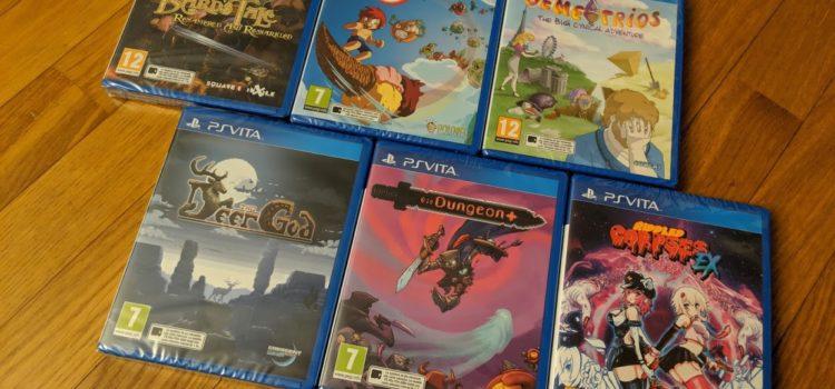 Découverte des jeux en boîte de chez Red Art Games