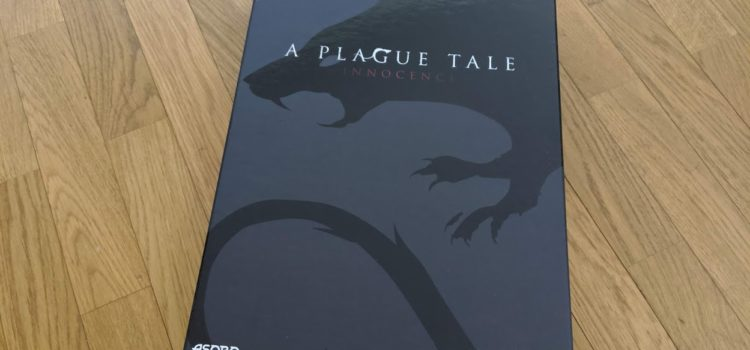 [UNBOXING] Press Kit – A Plague Tale: Innocence sur PS4