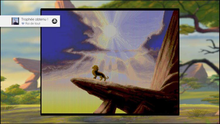Trophée platine : Disney Classic Games: Aladdin and The Lion King sur PS4