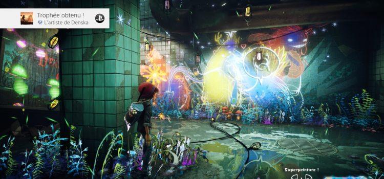 Trophée platine de Concrete Genie sur PS4