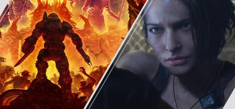[PSN] Mise à jour hebdo du 16/03/2020 : Doom Eternal, Resident Evil 3 (démo), etc.