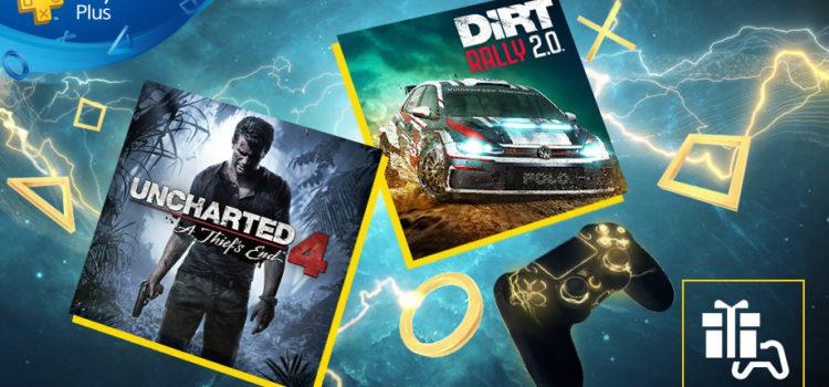 Les jeux gratuits du PS+ pour Avril 2020 (avec Uncharted 4 !)