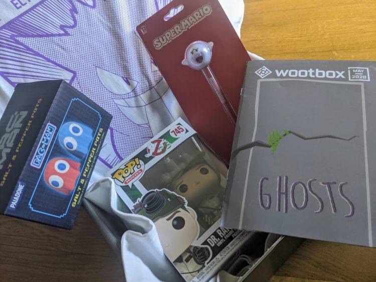 Wootbox Mai 2020 - tout le contenu