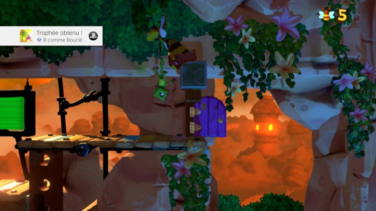 Trophée platine Yooka-Laylee and the Impossible Lair
