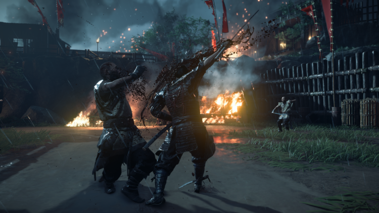 PS4 Pro - Test Ghost of Tsushima