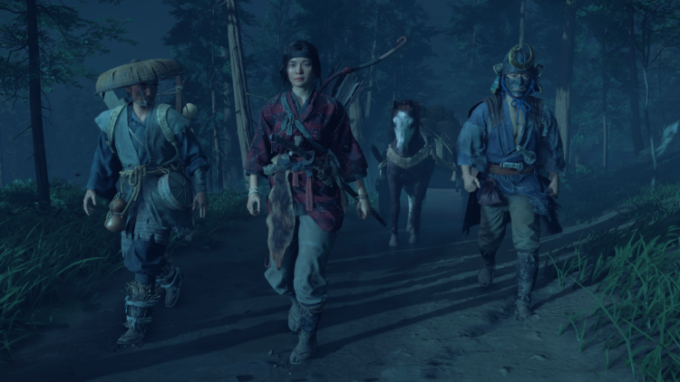 Test Ghost of Tsushima PS4 Pro - Marchons ensemble
