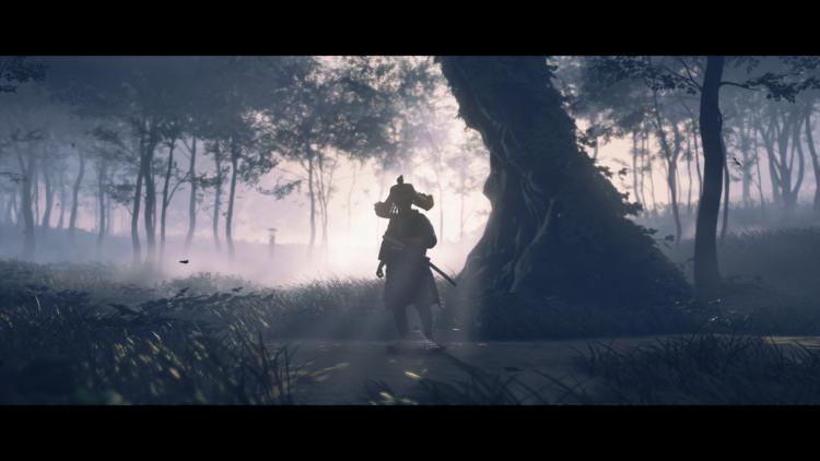 Test Ghost of Tsushima PS4 Pro - Contre jour parfait