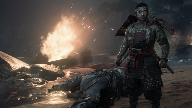 Test Ghost of Tsushima PS4 Pro - Une bataille mémorable...