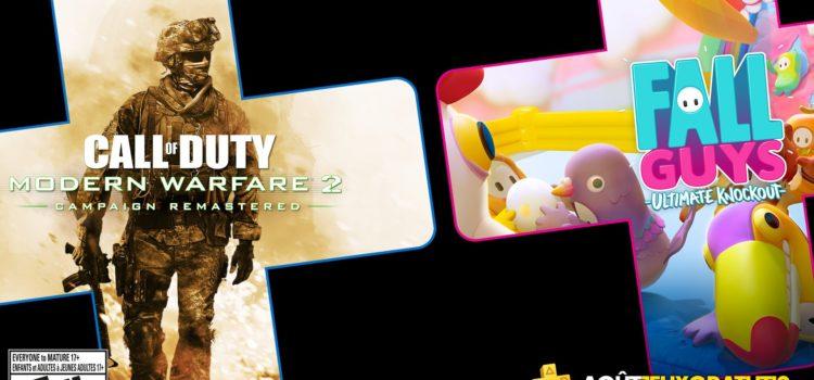 Les jeux gratuits du PS+ pour Août 2020