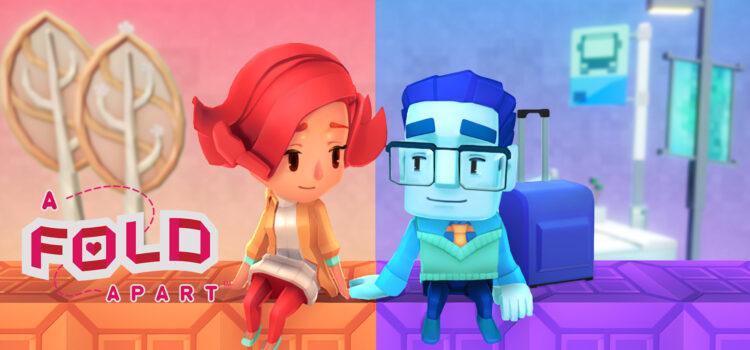 A Fold Apart : Test du puzzle game sur PS4