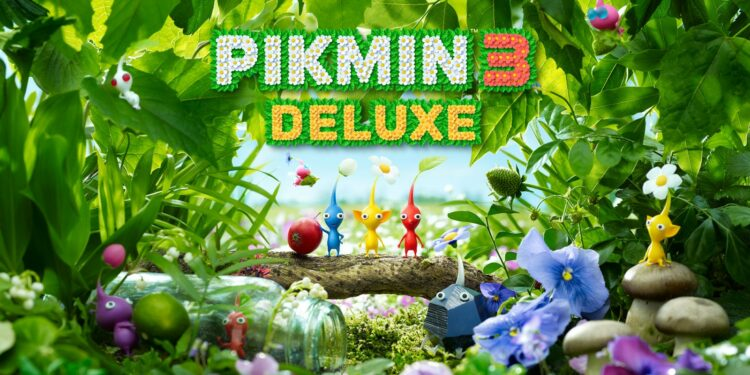 Pikmin 3 Deluxe sur Switch