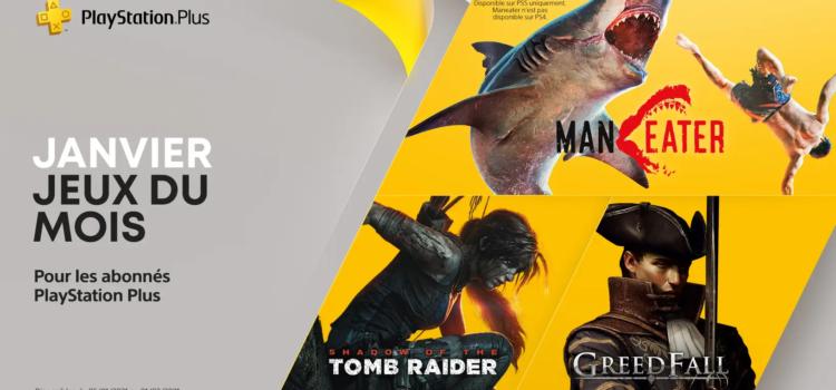 Les jeux PS4 et PS5 offerts pour Janvier 2021 (PS Plus)