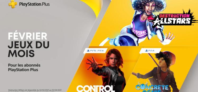 Les jeux PS4 et PS5 offerts pour Février 2021 (PS Plus)