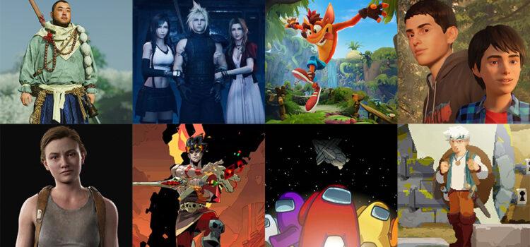 [JEUX VIDEO] Mes 4 Top 5 jeux vidéo de 2020