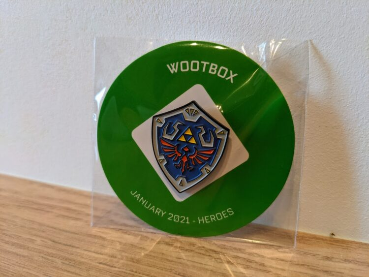 Wootbox Janvier 2021 - Zelda