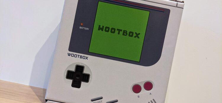 Contenu de Retrogaming : La Wootbox de Février 2021