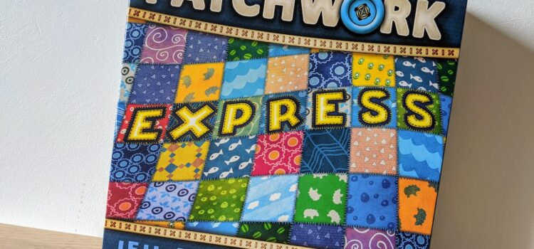 Patchwork Express, le jeu pour s'improviser quelques rapides parties à 2 !