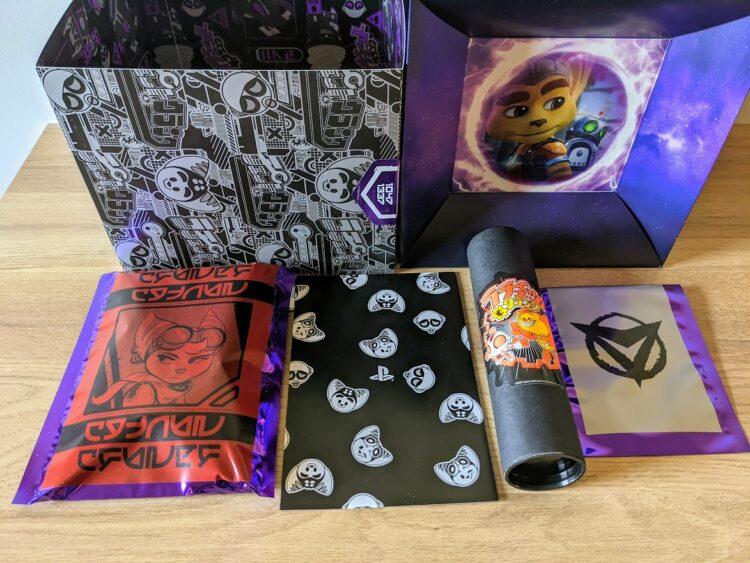 Ratchet & Clank: Rift Apart, unboxing press kit - premières pochettes