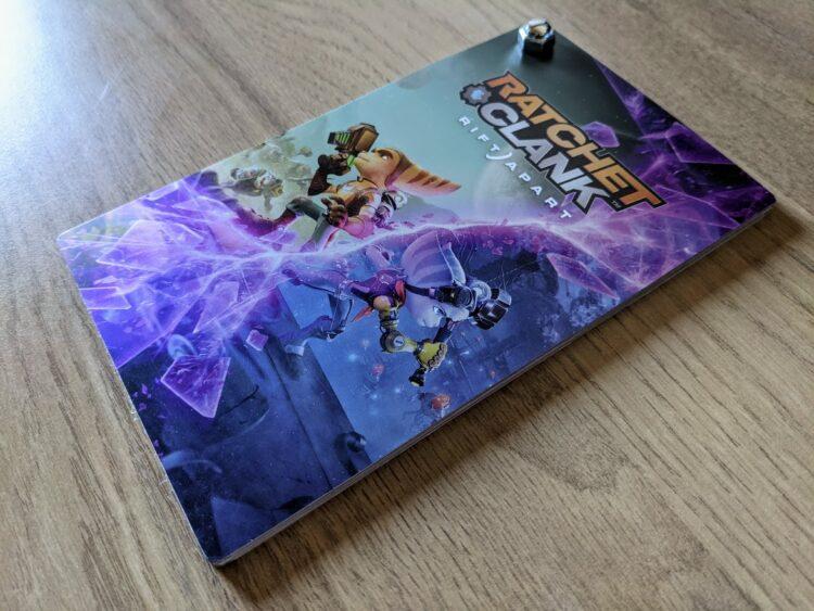 Ratchet & Clank: Rift Apart, unboxing press kit - dossier de presse